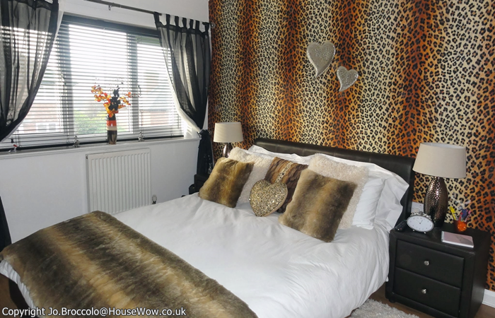 leopard wallpaper for bedroom teenagers leopard skin bedroom makeover