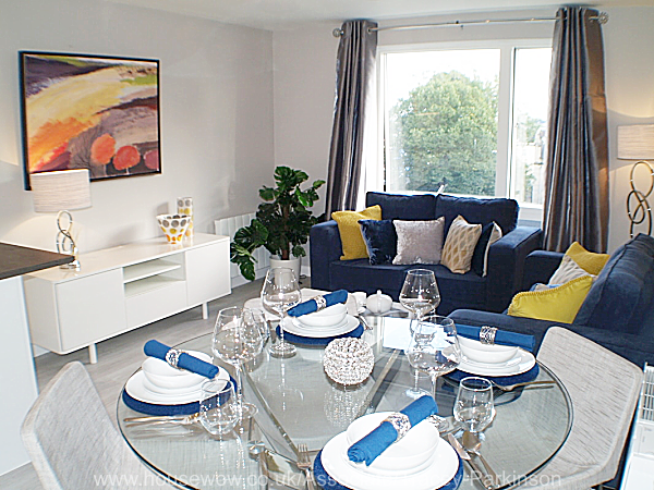show home dining room | Show Home Bristol Apartments