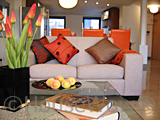 Show home lounge dressing detail picture