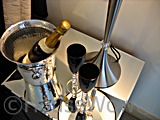 Show home champagne picture