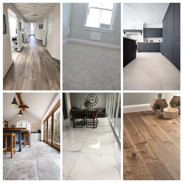 Different Living Room Flooring Styles