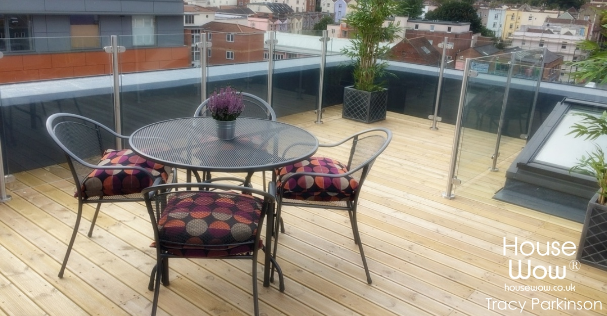 Show Home patio Styling Image