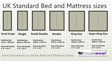 King Mattress Size Throughout Click For Larger Image Of Uk Bed And Mattress Sizes Bed Sizes Mattress