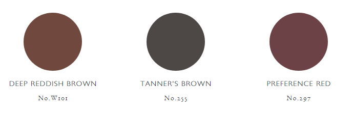 Farrow and Ball Colours Brown Palette 2021