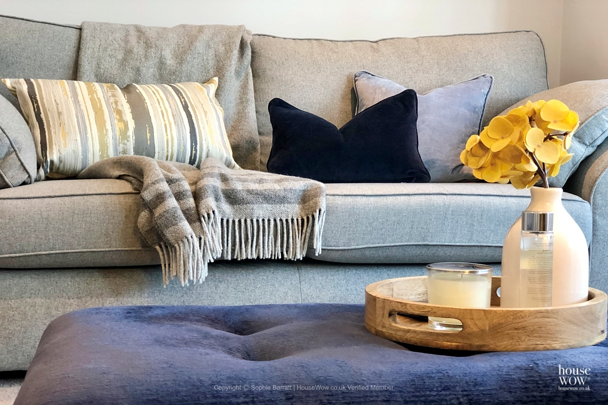 Lounge Home Staging to sell in Kent