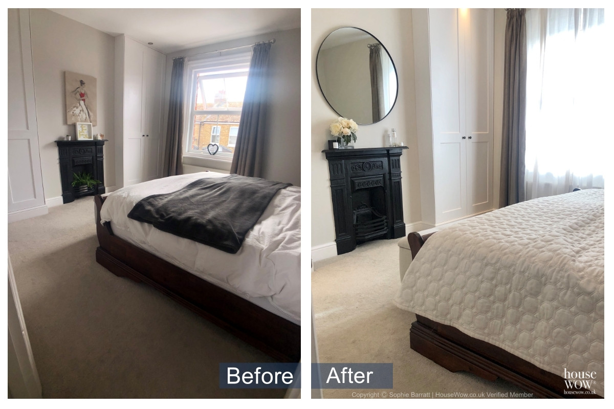 8 Before and After Staging bedroom