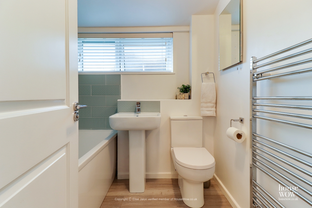 19 Completed bathroom renovation