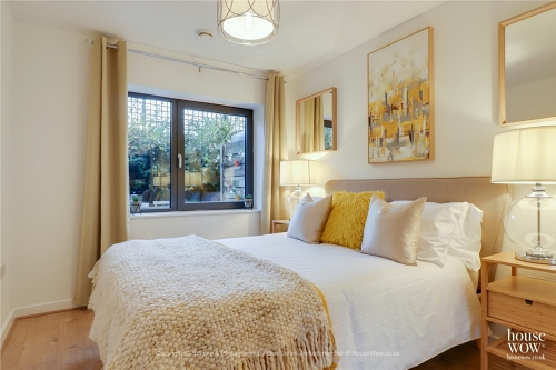 Example Bedroom Home Staged to sell the property