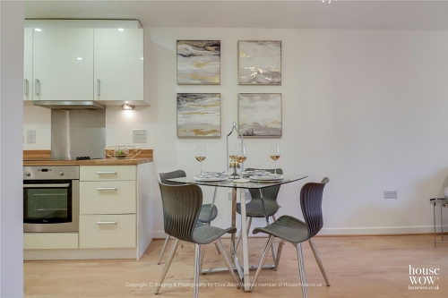 Home Staging shown in a Dining area of a property for sale