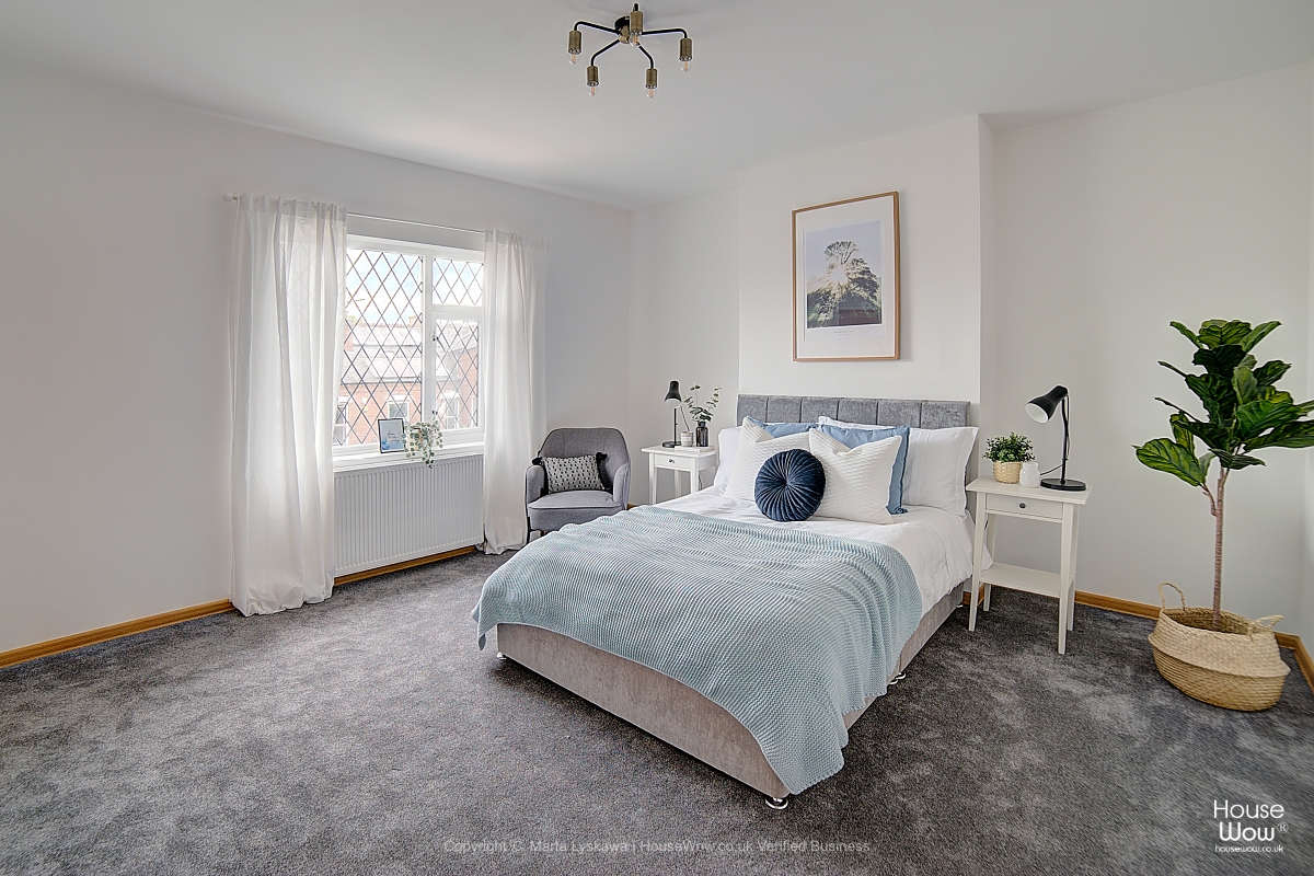 9 Master bedroom staging Leeds HMO