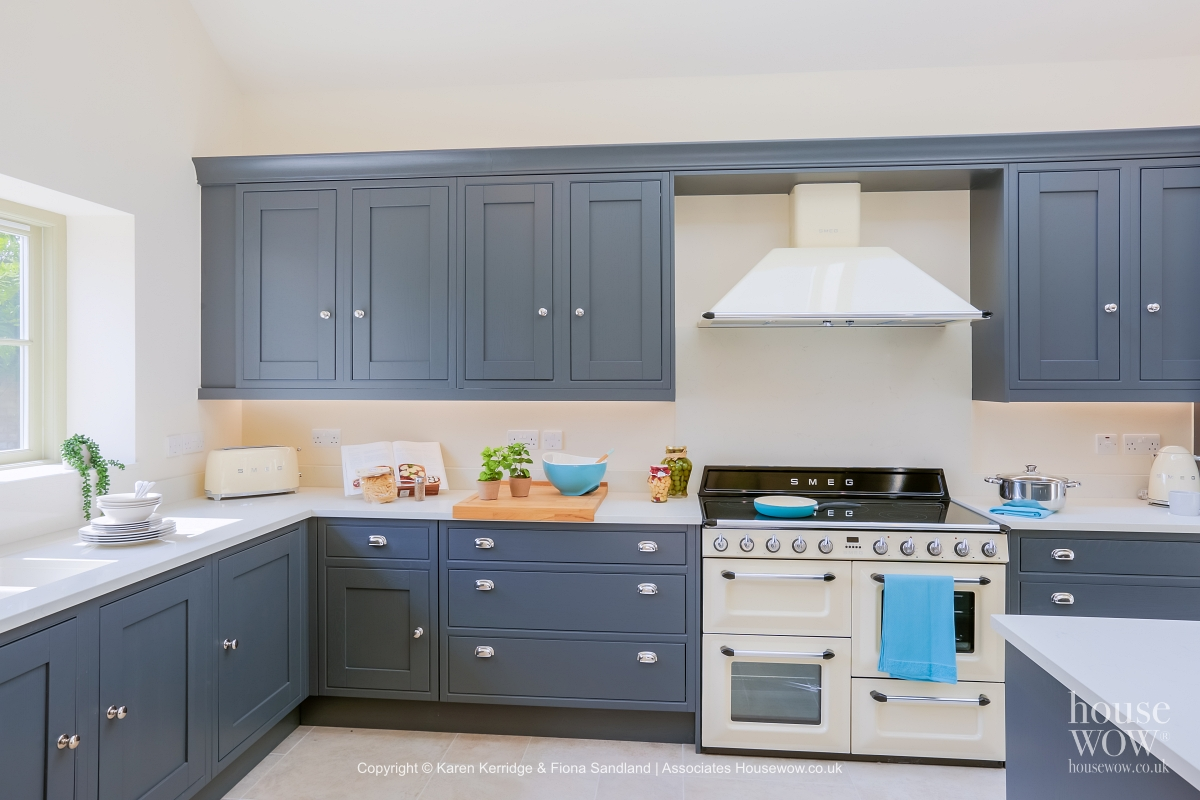 Show Home kitchen in grey
