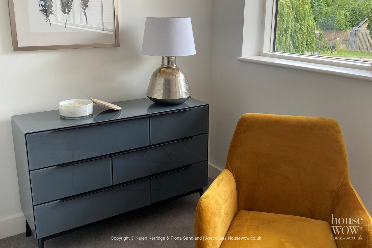 Show Home in grey and ochre