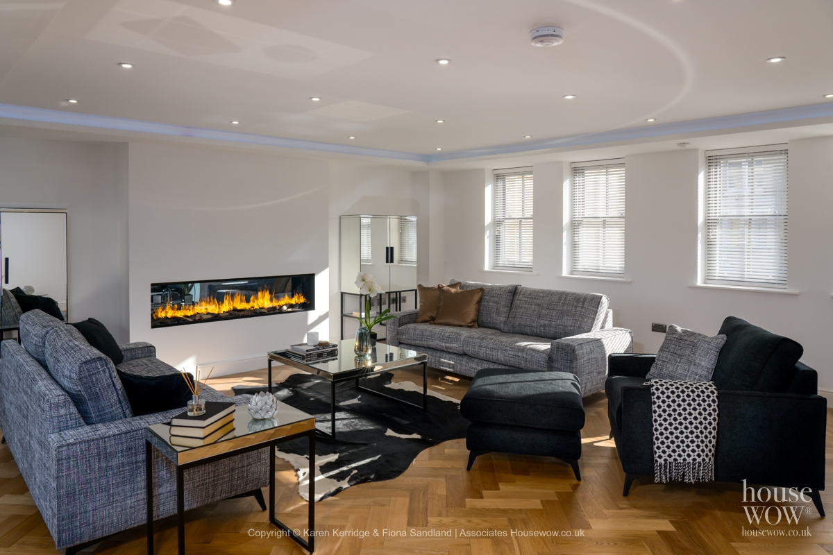 Show Home open plan Lounge dining Image