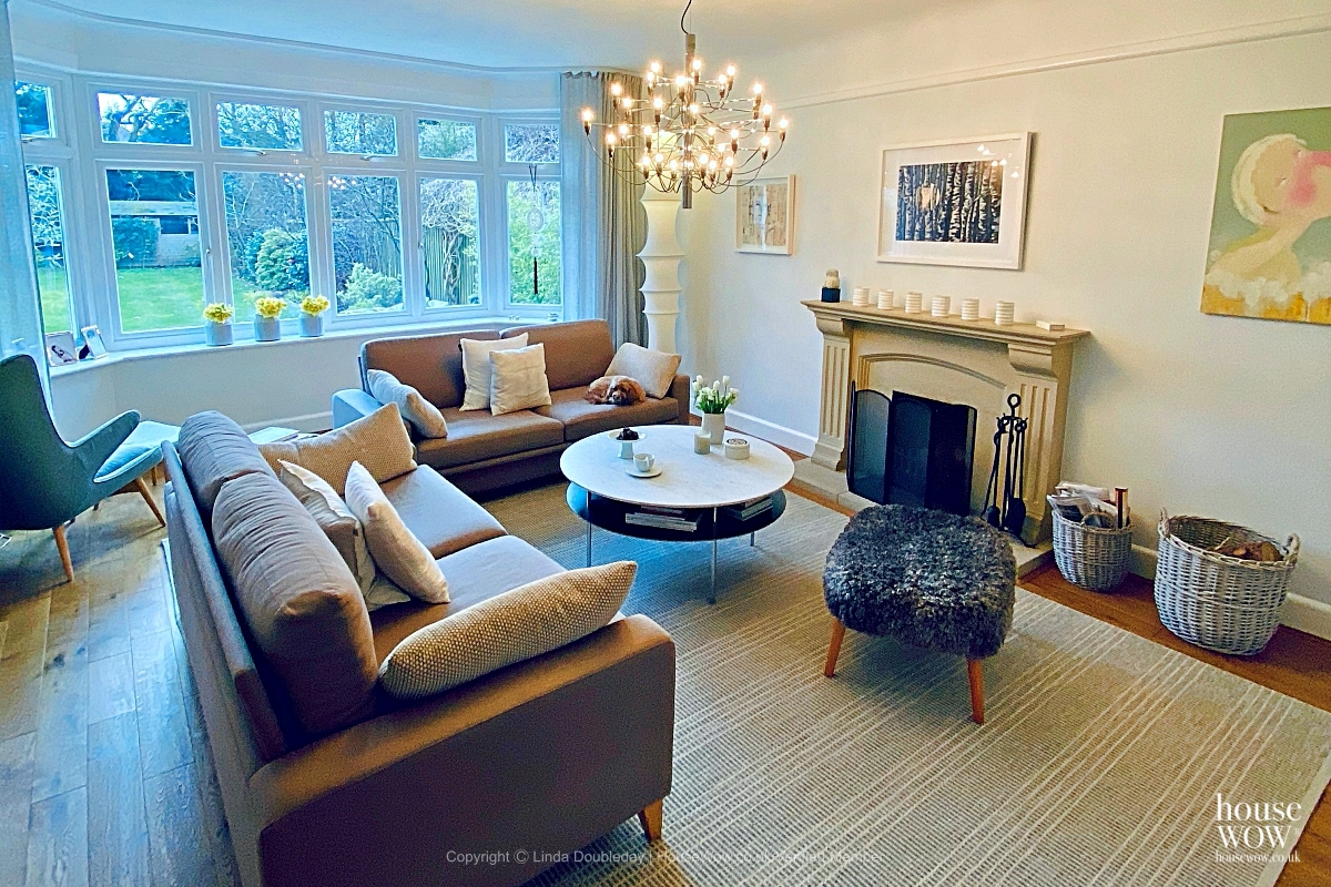 1 home staging lounge Hampshire