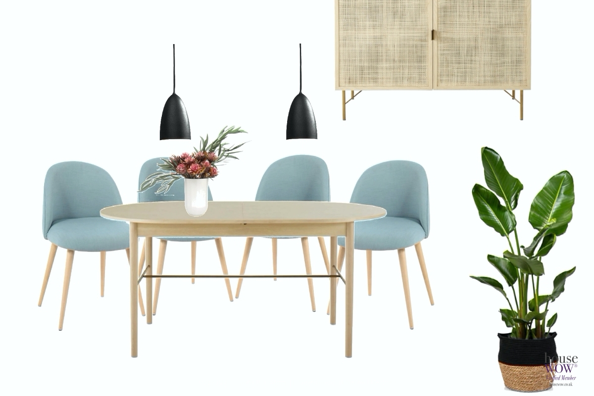 21 Dining Room Design Scheme Furnishing to sell Dorset