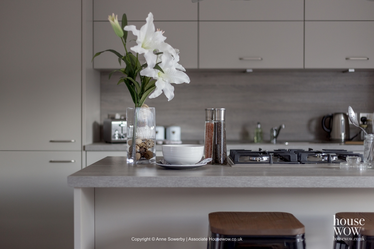 Show Home kitchen Staging