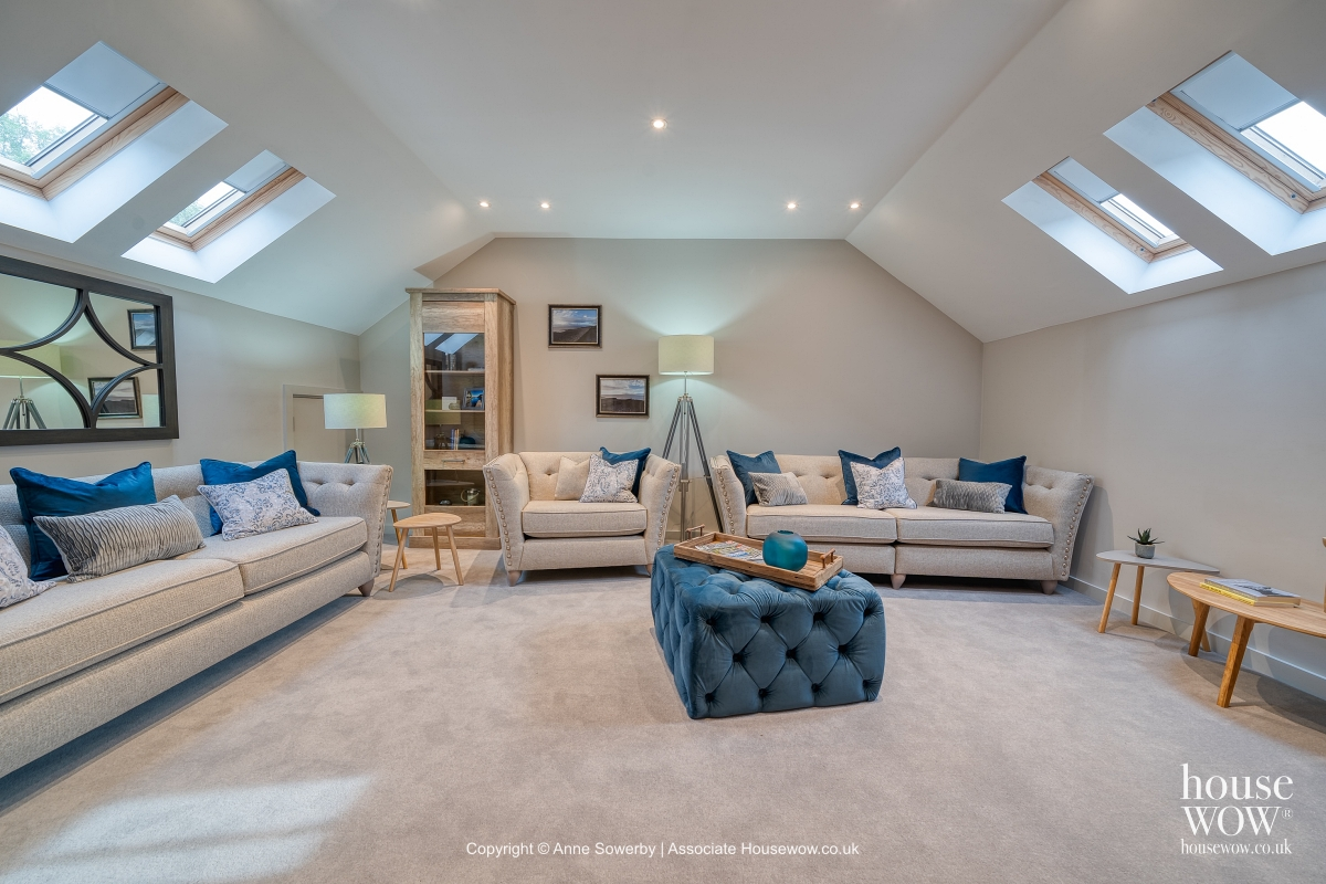 Classic formal lounge Staging