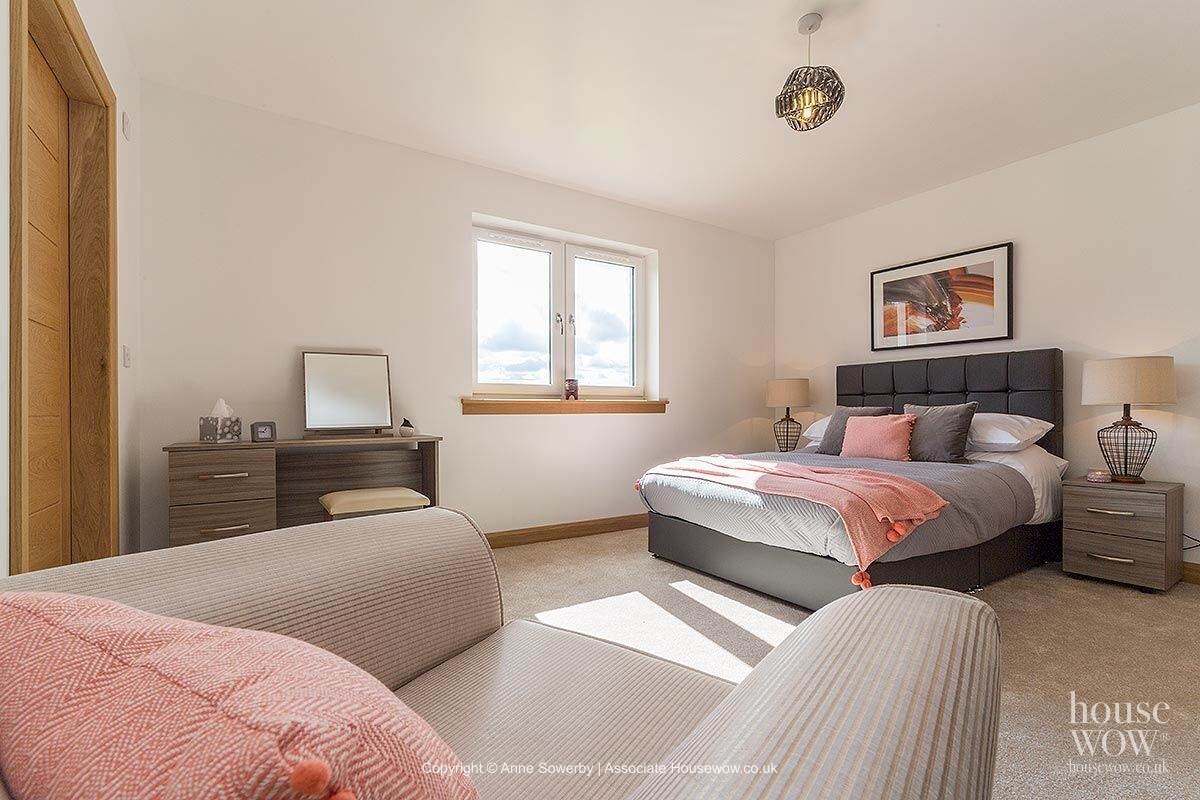 Showhome master bedroom
