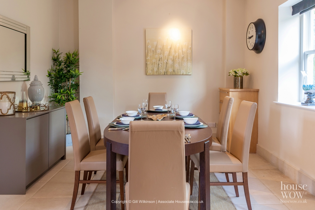 Dining room Home Staging