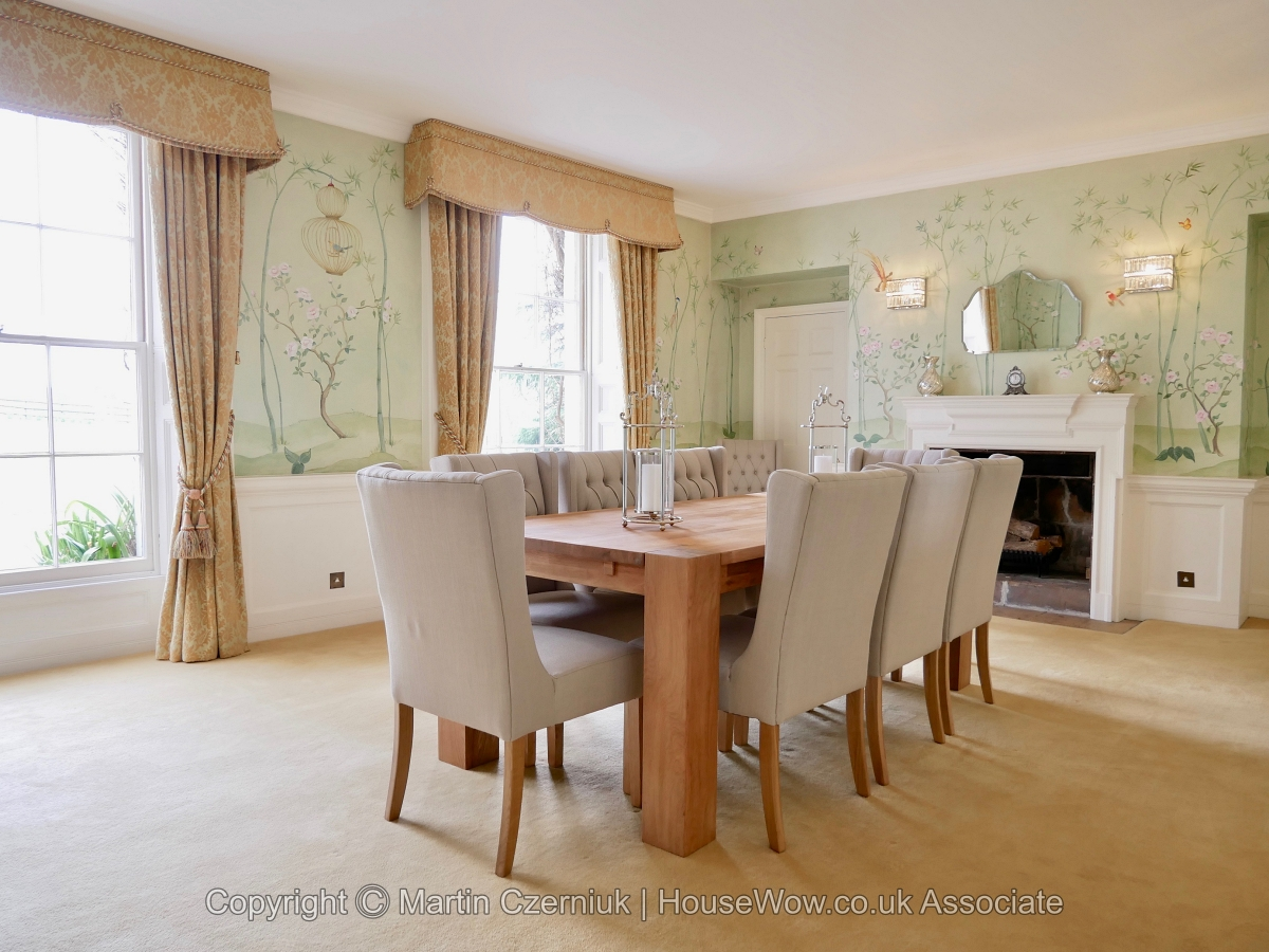 11 Styed Dining Room after Home Staging using Furniture Rental