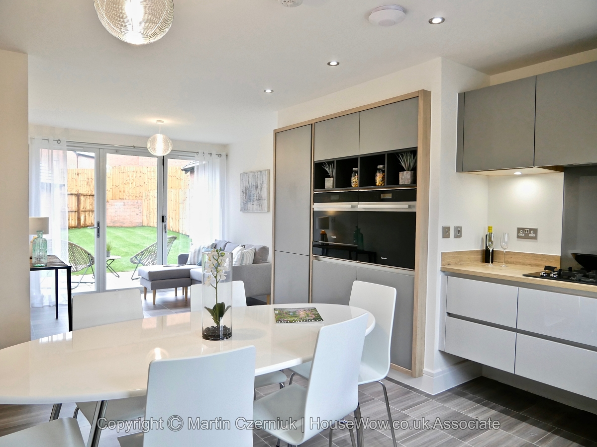 5 A Show Home dining kitchen