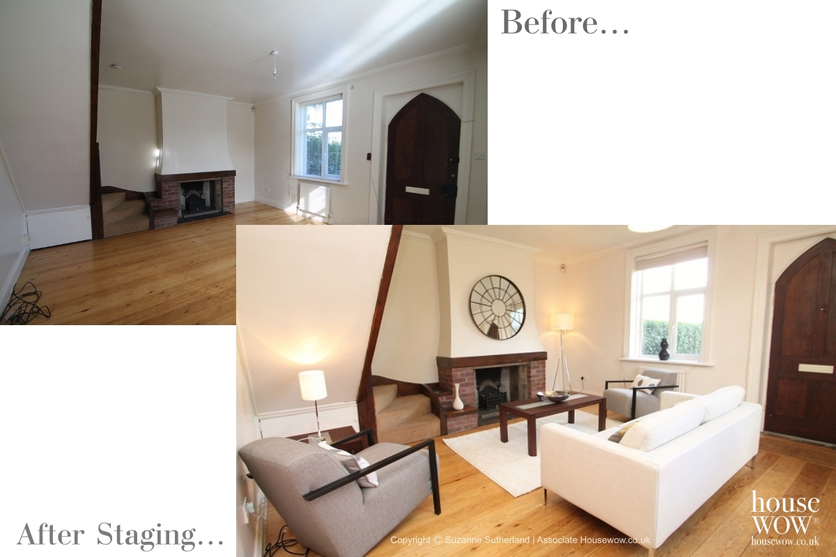 Before and After Show Home Staging in Wakefield