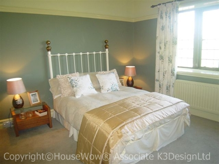 Show homes Contemporary Classic bedroom example