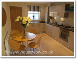 Home Staged kitchen in Northumberland