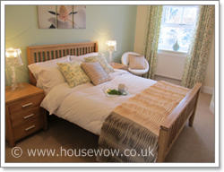 Home Staging in Northumberland bedroom