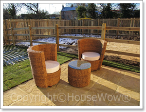 Show home style garden furniture